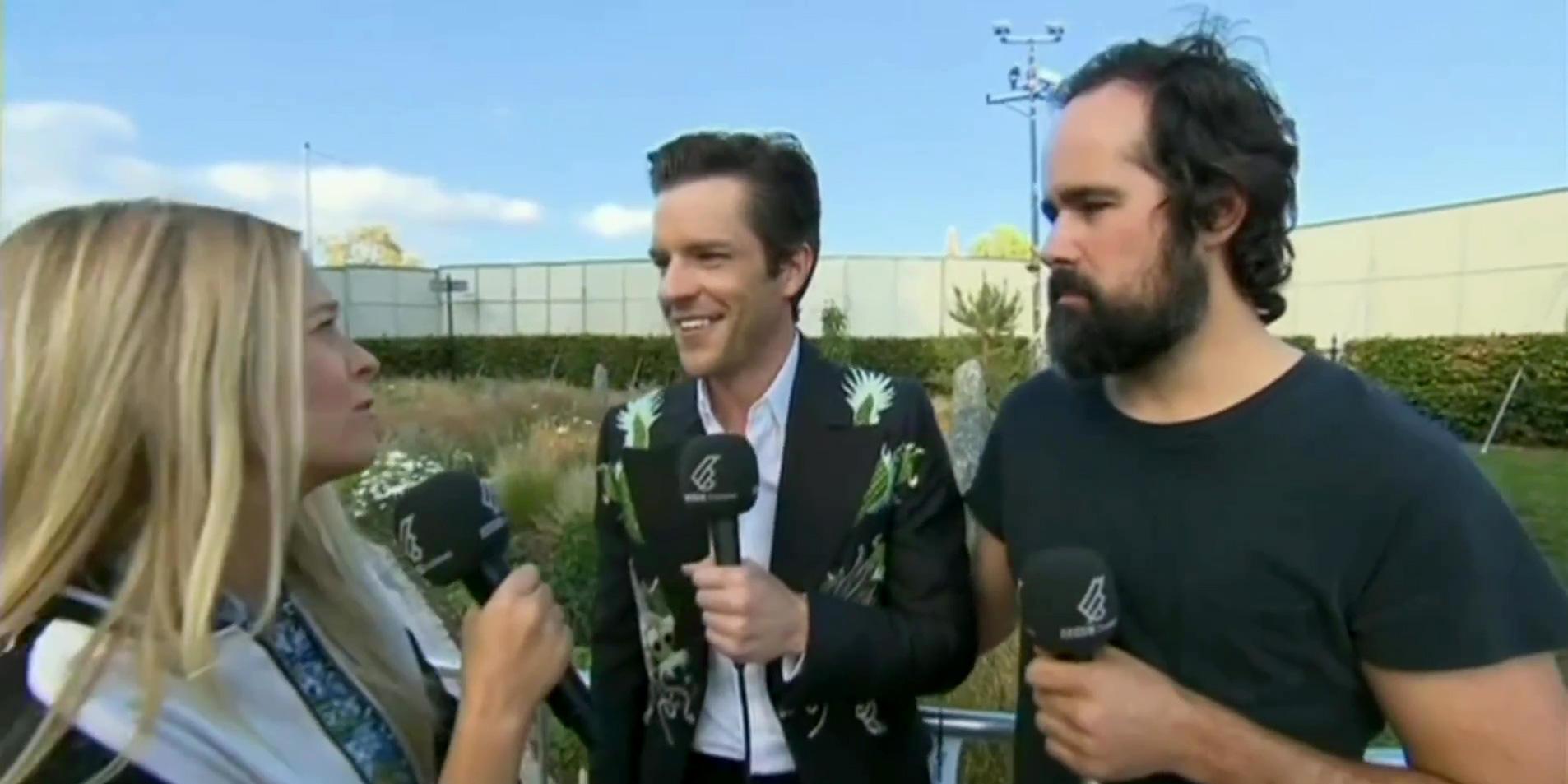 Intervista con la BBC al TRSNMT Festival