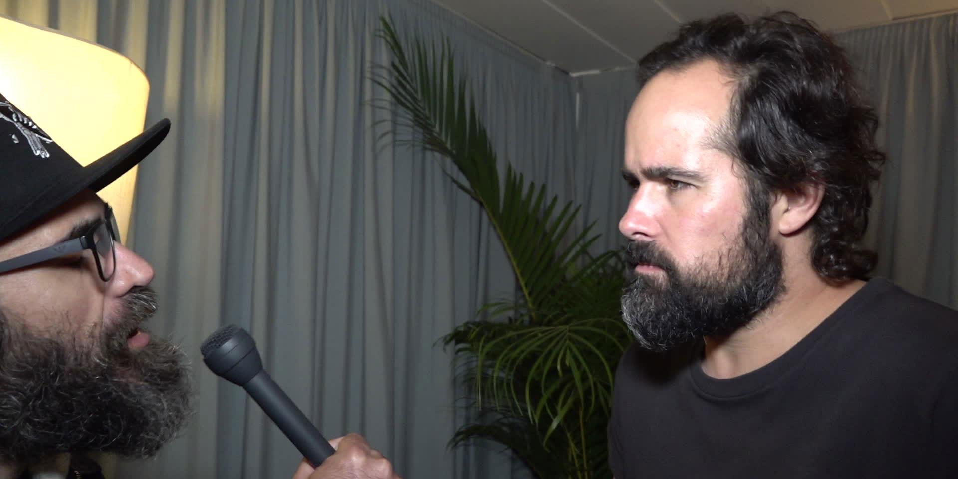 Intervista con Blitz al Rock in Rio Lisboa