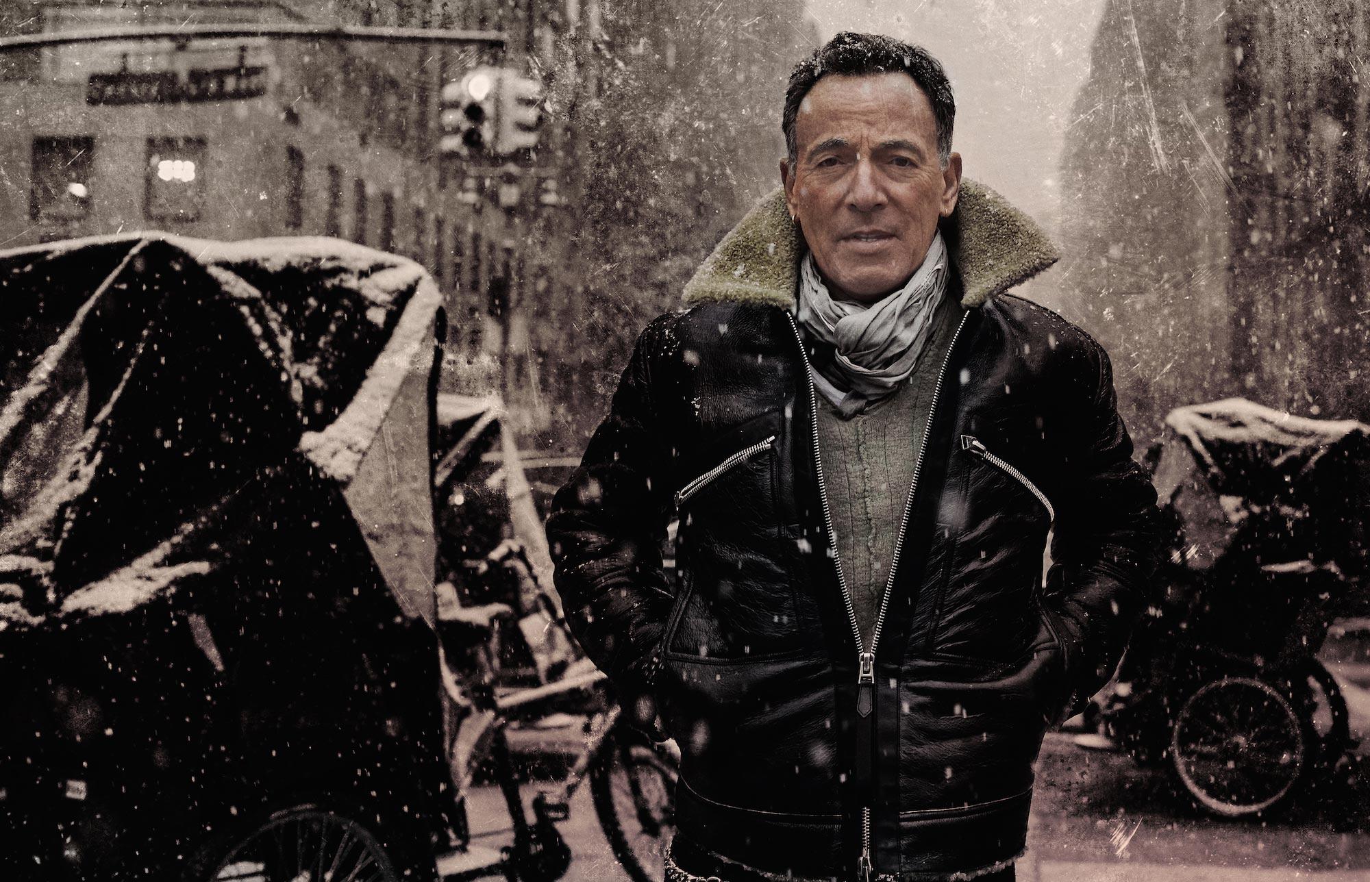 Brandon ospite di Bruce Springsteen nel suo programma radio
