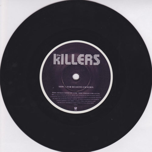 For Reasons Unknown 7''