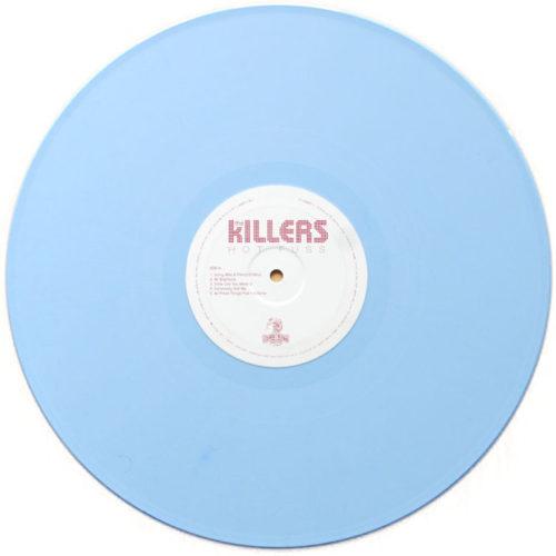 Hot Fuss UK LP azzurro
