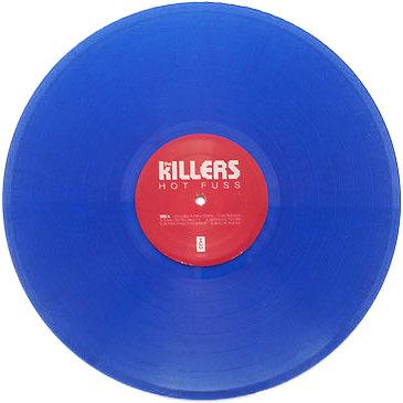 Hot Fuss US LP blu