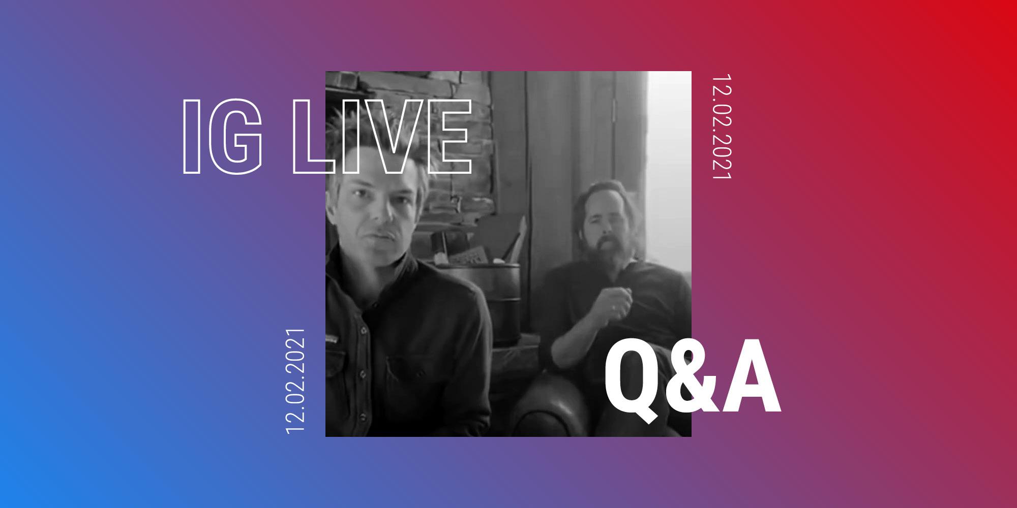 Curiosità e chiacchierate con i fan nella Q&A su instagram