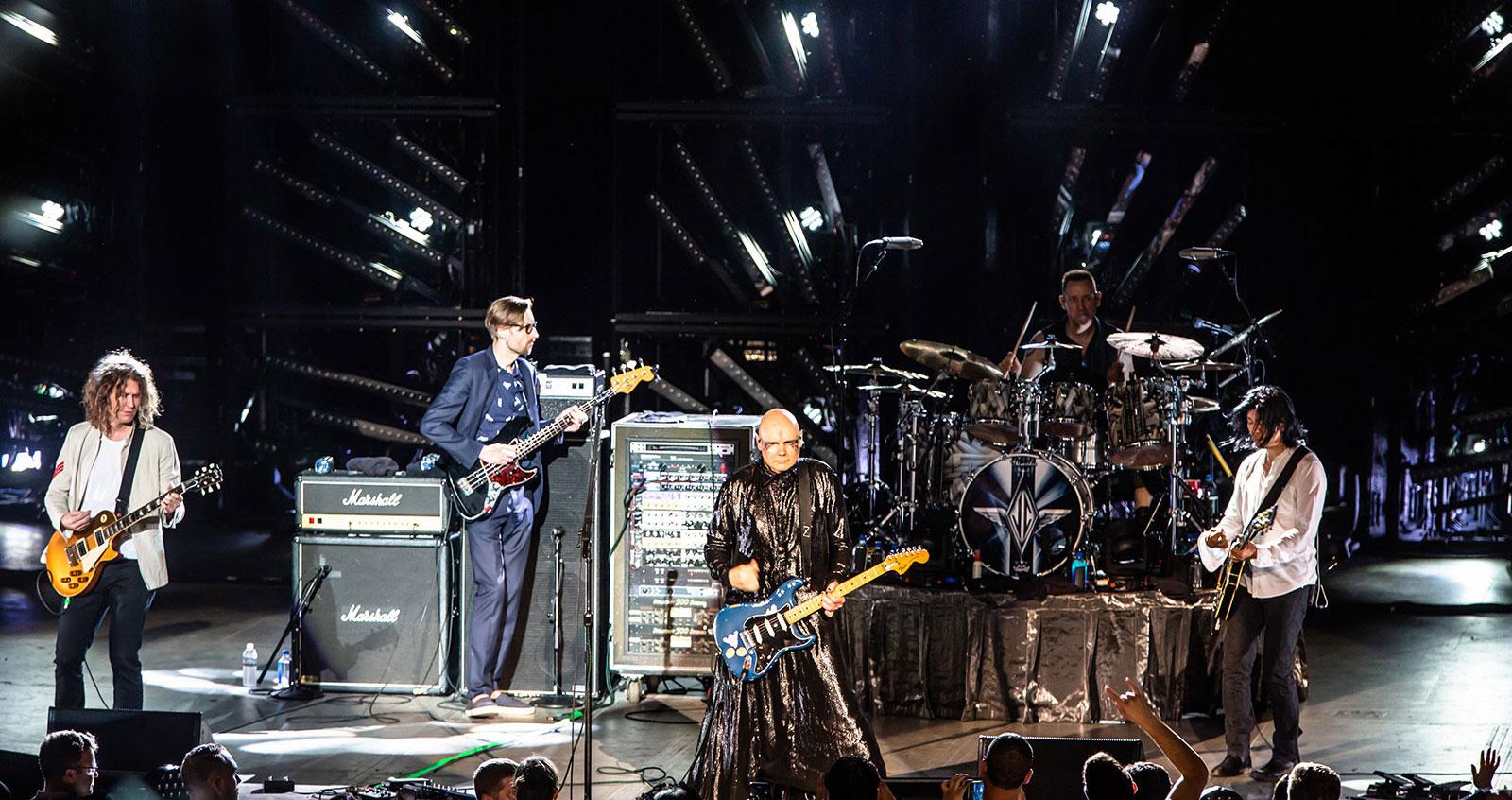 Mark e Dave ospiti degli Smashing Pumpkins per il concerto dei 30 anni