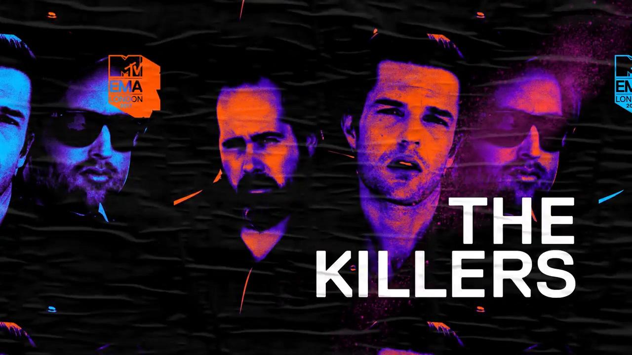 I Killers fra i performer agli MTV EMAs