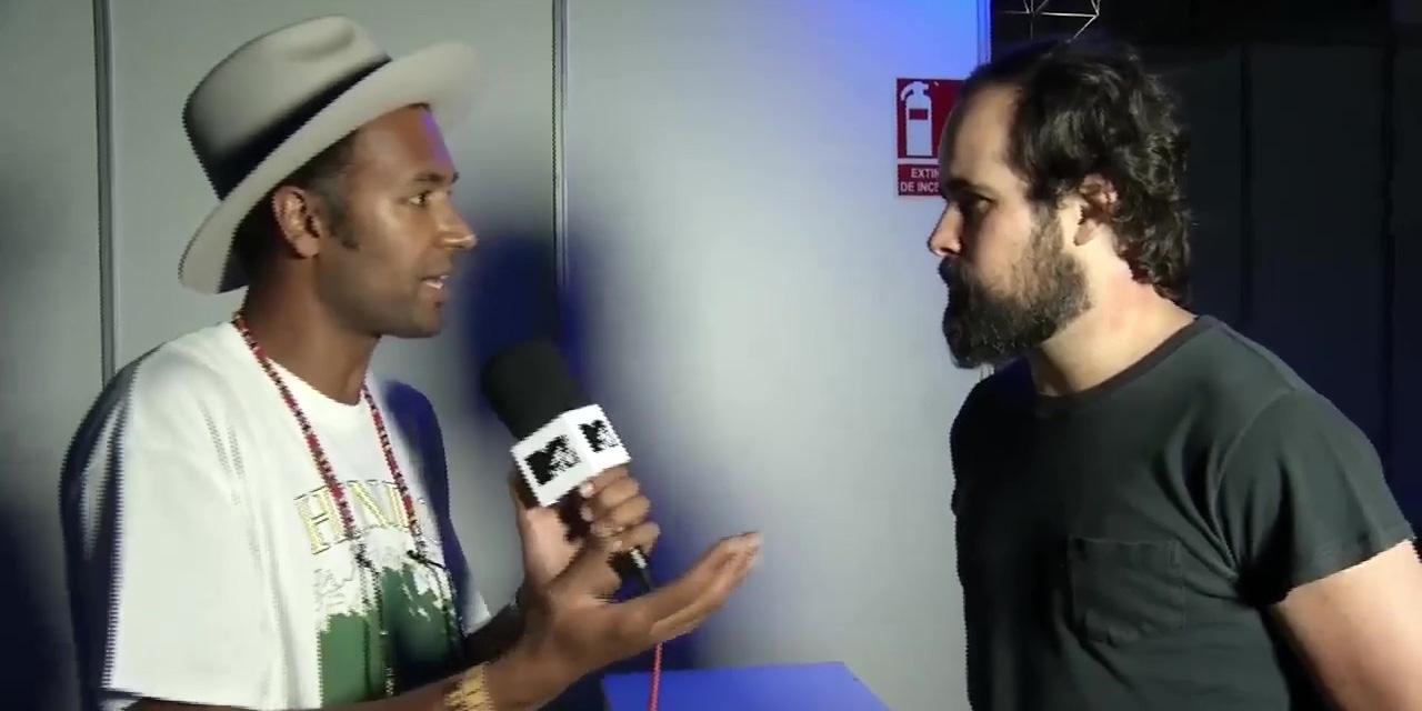 Intervista con MTV España al Benicàssim Festival