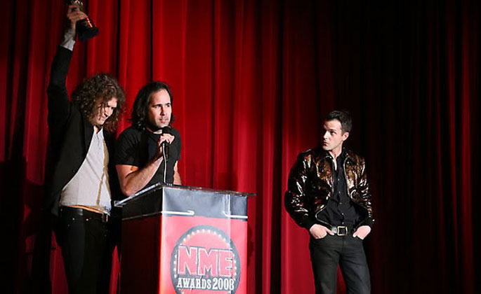 Due premi agli NME Awards americani
