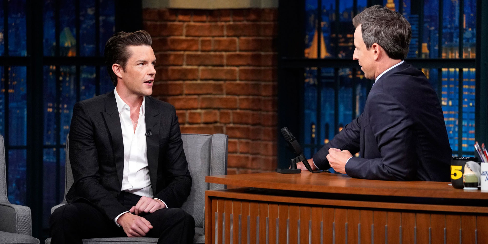 Intervista al Late Night with Seth Meyers