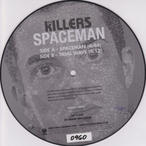 Spaceman 7''
