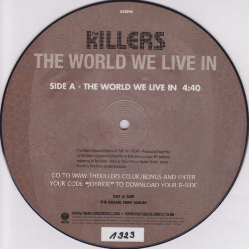 The World We Live In 7''