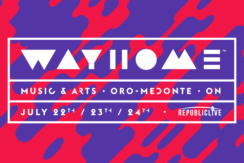 La band headliner del Wayhome Festival a Luglio