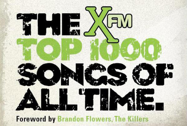 La band nel libro Xfm 1000 Top Songs of All Time